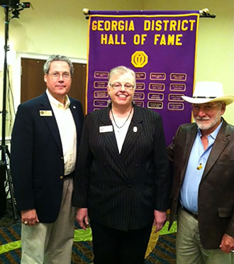 Susan White Inducted Into Georgia Optimist Hall of Fame