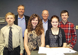WILDWOOD STUDENTS COMPETE IN ORATORICAL CONTEST SPONSORED BY THE OPTIMIST CLUB OF JASPER