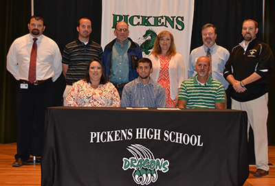 Wyatt Ingram Signed Letter of Intent with Armstrong Atlantic