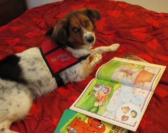 READing Paws at the Pickens County Library