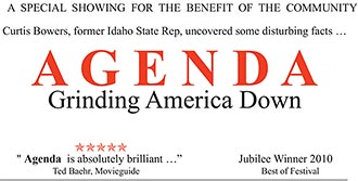 A Special Showing of 'AGENDA Grinding America Down' at Pickens Tea Party