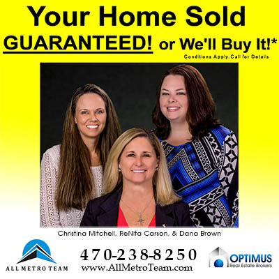 Consider Your Home SOLD with All Metro Team