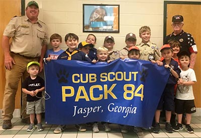 American Legion Donates To Cub Scout Pack 84