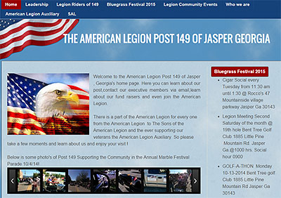 American Legion Post 149 Launches Website