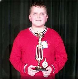 Pickens County Schools Spelling Bee Winner Andrew Haygood
