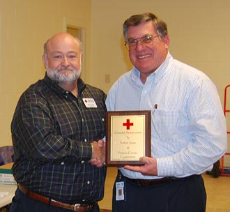 The Northeast Chapter of the American Red Cross held Special Board Meeting at Pickens County Admin Building
