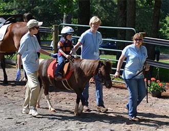 ANGELS ON HORSEBACK TACKING UP FOR SPRING SESSION 2013