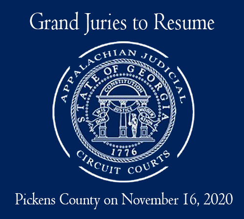Grand Juries To Resume in the Appalachian Judicial Circuit