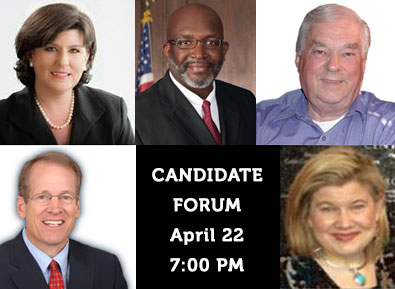 Candidate Forum at April Tea Party Meeting