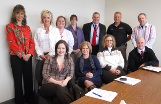 The Attendance Protocol Planning Committee met recently to discuss plans for the 2011-2012
