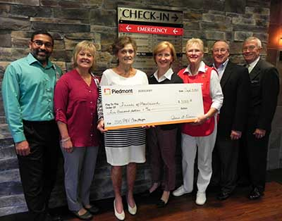 Auxiliary donates $5,000 to Friends of Mountainside