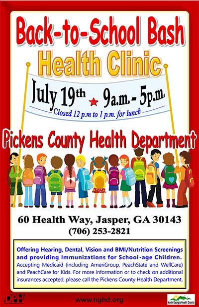BACK-TO-SCHOOL BASH Health Clinic