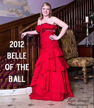 Congratulations to Abby Lockey for being crowned BELLE OF THE BALL