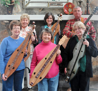 The Bent Tree Strings Mountain Dulcimer Group Perfroms June 9th