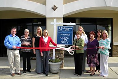 Pickens County Chamber Recognizes Betty Lohman LLC w/ Maximum One Realtors with a Ribbon Cutting