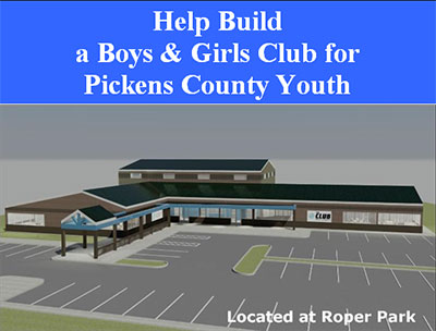 Help Build a Boys & Girls Club for Pickens County Youth