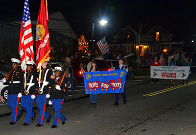 Second Annual March of the Toys Parade  for Toys for Tots to be Held in Ball Ground