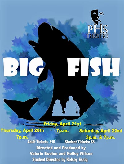 PHS Theatre's 'BIG FISH' Opens April 20th
