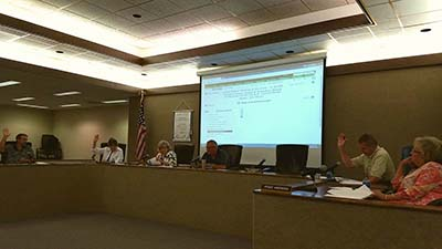 Pickens County Board of Education Called Meeting - Millage Rate 2016
