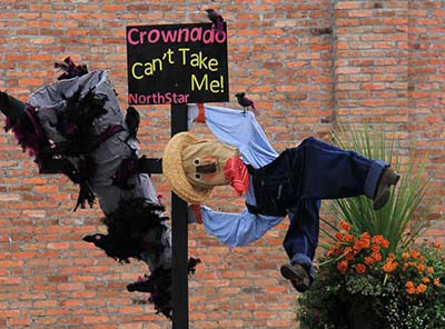 Boo Who? Scarecrow Contest Returns