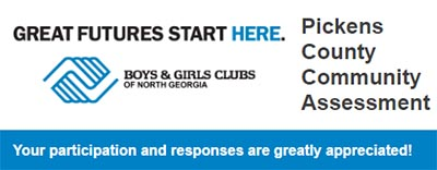Pickens County Boys & Girls Club Community Needs Assessment---Your Opinion Matters