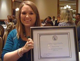 Chattahoochee Tech's Herring wins statewide award for her efforts