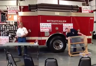 Bethany-Salem Fire Department Raffle Drawing Winners