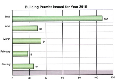 Pickens County Planning & Development April 2015 Report