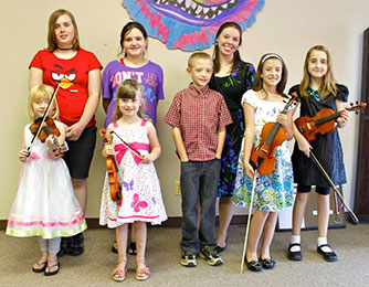 Creative and Performing Arts Academy hosted two recitals Spring 2012