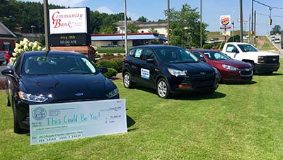Pickens County Chamber of Commerce Annual Auto Give Away