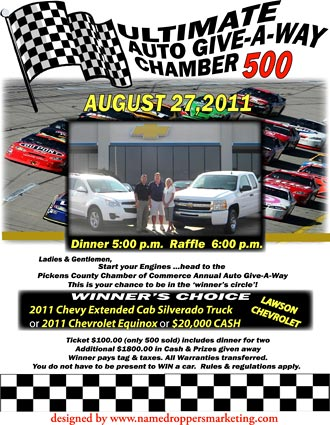 2011 Chamber 500 Annual Auto Give-Away