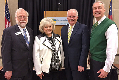 Reinhardt University Sponsored Chamber Breakfast in January