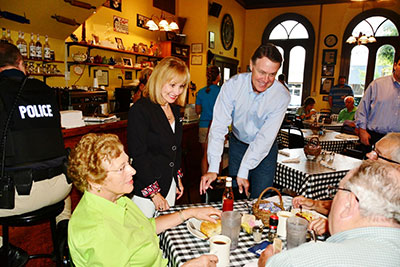 U.S. Senate Candidate David Perdue Visited The Carriage House