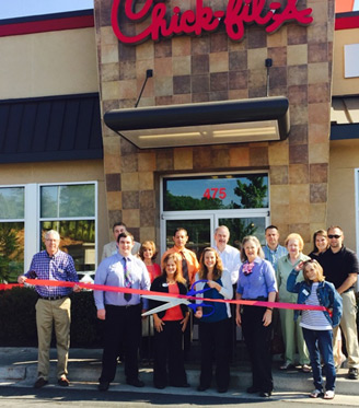 Chick-fil-A at Ellijay Joins Pickens County Chamber of Commerce