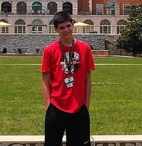 Pickens High School Student Thomas Christoper DiPuma Receives National Honor