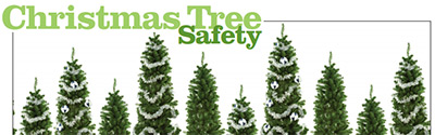 As you deck the halls this holiday season, be fire smart.