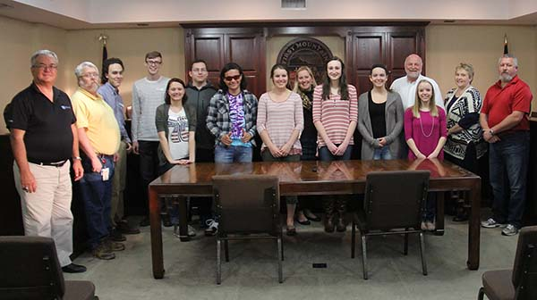 Youth Leadership Pickens Attended Meeting