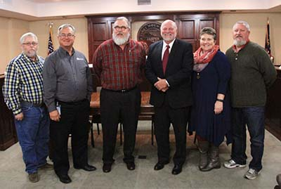Jasper City Council - December 2016 (Video)