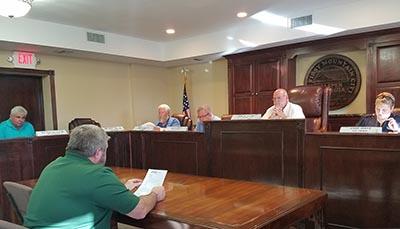 Jasper City Council April 2017