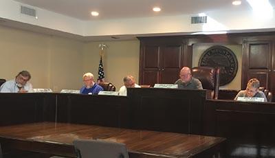 Jasper City Council May 2017