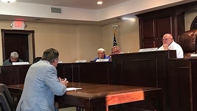 Jasper City Council Meeting July 2017