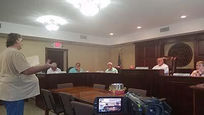 Jasper City Council Meeting August 2017