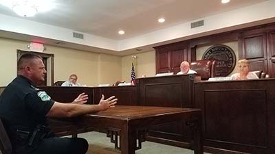 Jasper City Council Meeting September 2017