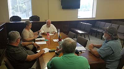 Jasper City Council Works Session August 2017