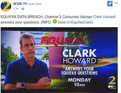 Clark Howard's Advice on Equifax Breach (Video)