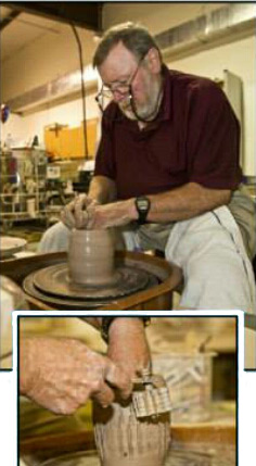 Meet the Artist: Potter C Larry Wilson