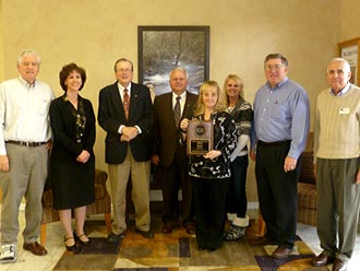 Pickens County recognized for efforts in Adult Education by TCSG