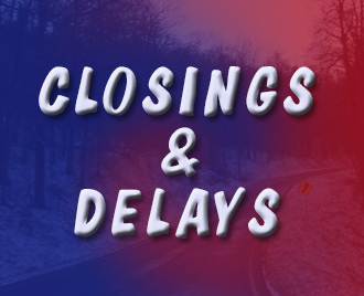 DELAYS on Wednesday, January 8th