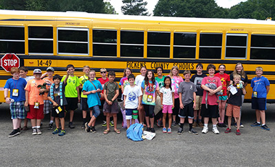 Cloverleaf Camp Finishes with a Bang