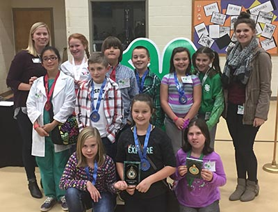 Pickens 4-H'ers Compete at District Project Achievement